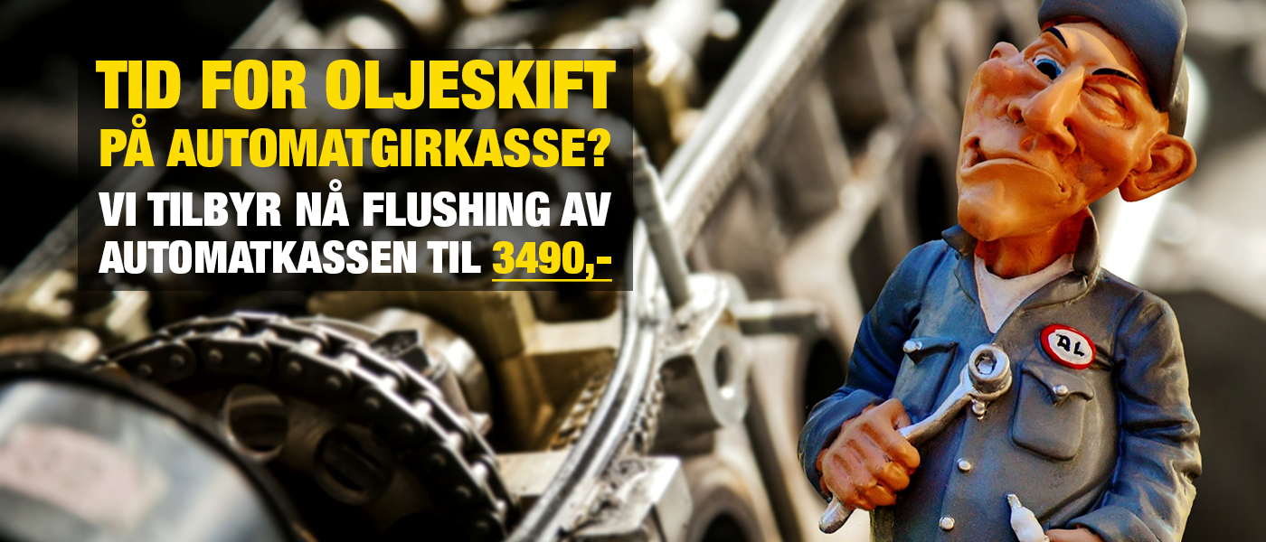 Tid for oljeskift på automatgirkasse?